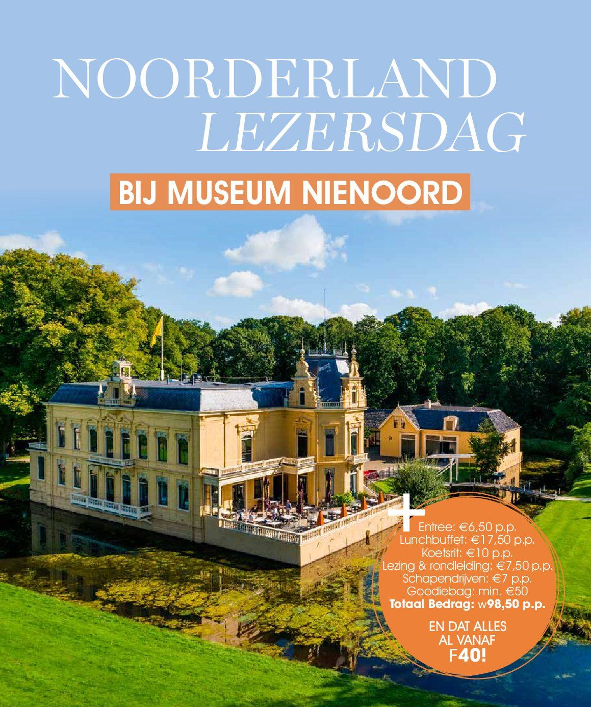 15 mei: Dag voor lezers van blad Noorderland